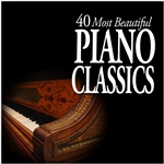 Various Artists - 40 Most Beautiful Piano Classics DB Cover Art
