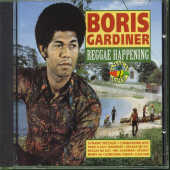Gardiner, Boris - Reggae Happening CD Cover Art