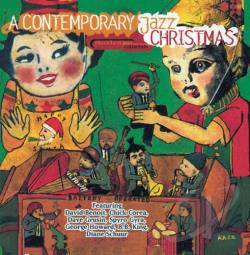Contemporary Jazz Christmas CD Cover Art