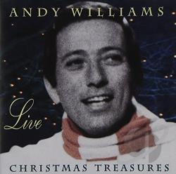 Williams, Andy - Andy Williams Live: Christmas Treasures CD Cover Art