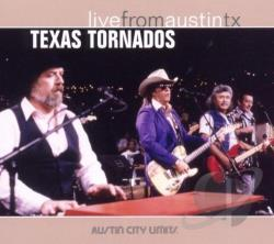 Texas Tornados - Live from Austin TX CD Cover Art