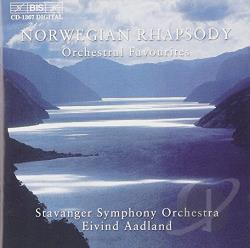 Aadland / Halvorsen / Stavanger So / Svendsen - Norwegian Rhapsody CD Cover Art