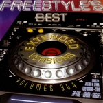 Freestyle's Best Extended Versions, Vol. 3 - 4 CD Cover Art