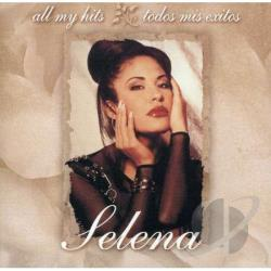 Selena - All My Hits: Todos Mis Exitos CD Cover Art