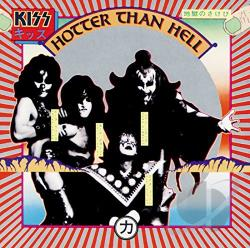 Kiss - Hotter Than Hell CD Cover Art
