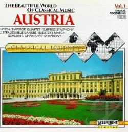 Beautiful World Of Classical Music Vol 1 - Austria CD Cover Art