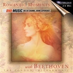 London Philharmonic - Romantic Moments With Beethoven DVA Cover Art