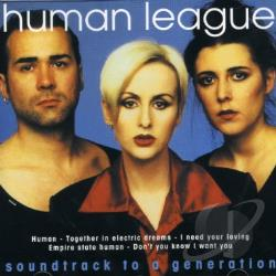 Human League - Soundtrack to a Generation CD Cover Art