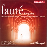 Faure / Plazas / Robinson / Stephen / Tortelier - Faure: Requiem CD Cover Art