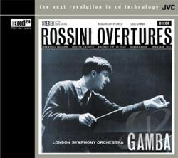 Rossini, Gioacchino - Rossini Overtures CD Cover Art