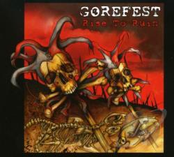 Gorefest - Rise To Ruin CD Cover Art