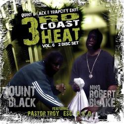 Black, Quint - 3rd Coast Heat, Vol. 6 CD Cover Art