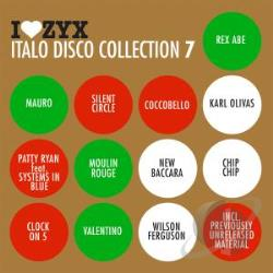 ZYX Italo Disco Collection, Vol. 7 CD Cover Art