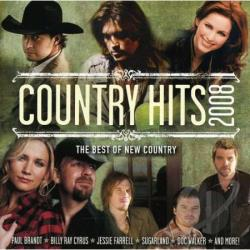 Country Hits 2008 CD Cover Art