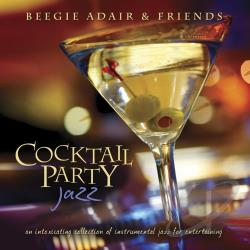 Adair, Beegie - Cocktail Party Jazz CD Cover Art
