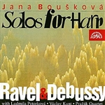 Bouskova,J;Hoskovec,V;Kunt,V;Etc - Ravel / Debussy ; Sonatine En Trio;Danses;Etc CD Cover Art