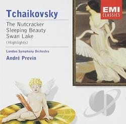 London Symphony Orch. - Tchaikovsky: The Nutcracker; Sleeping Beauty; Swan Lake CD Cover Art