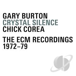 Burton, Gary / Corea, Chick - Crystal Silence CD Cover Art