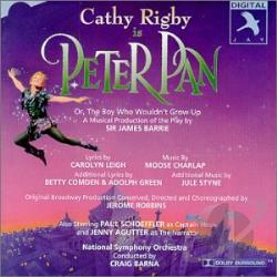 Rigby, Cathy - Peter Pan CD Cover Art