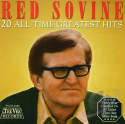 Sovine, Red - 20 All-Time Greatest Hits CD Cover Art