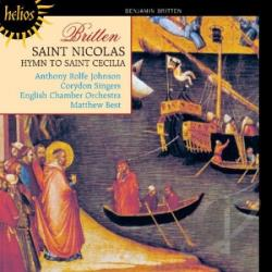 Best / Britten / Corydon Singer / Johnson - St Nicolas CD Cover Art