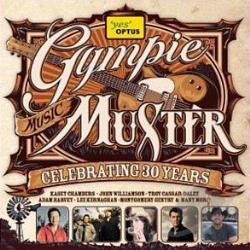 Gympie Music Muster: Celebrating 30 Years CD Cover Art