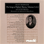 Redpath, Jean - Songs Of Robert Burns Vols. 5 & 6 CD Cover Art