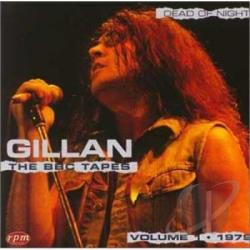 Gillan - Dead Of Nght BBC Vol. 1 CD Cover Art
