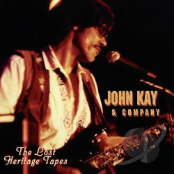 Kay, John - Lost Heritage Tapes CD Cover Art