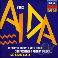 Gorr / Merrill / Price / Soltigda / Vickers - Verdi: Aida CD Cover Art