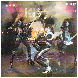 Kiss - Alive! CD Cover Art