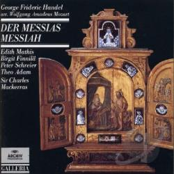 Handel / Mackerras / Orf Sym Orch / Schreier - Handel: Messiah Arr Mozart CD Cover Art