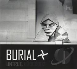 Burial - Untrue CD Cover Art