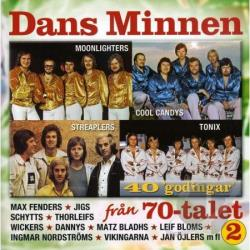 Dans Minnen Fran 1970-Talet - Vol. 2 - Dans Minnen Fran CD Cover Art
