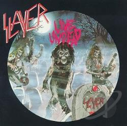 Slayer - Live Undead CD Cover Art