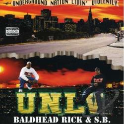 Baldhead Rick & S.B. - Unlv CD Cover Art