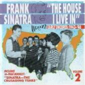 Sinatra, Frank - Unheard Frank Sinatra Vol. 2: The House I Live In. CD Cover Art