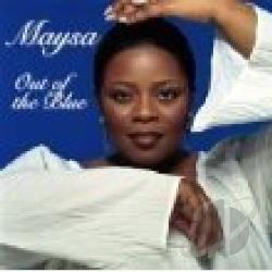 Maysa - Out of the Blue CD Cover Art