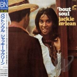 McLean, Jackie - 'Bout Soul CD Cover Art