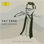 Bohm, Karl - Karl B�HM Conducts Mozart And Strauss CD Cover Art