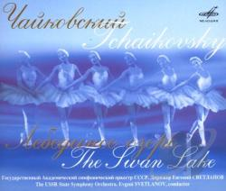 USSR State Symphony Orchestr - Tchaikovsky: The Swan Lake CD Cover Art