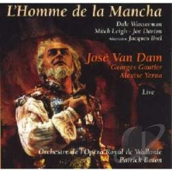 Wasserman, Dale - L'Homme de la Mancha CD Cover Art
