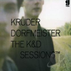 Kruder & Dorfmeister - K&D Sessions CD Cover Art