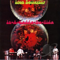 Iron Butterfly - In-A-Gadda-Da-Vida CD Cover Art