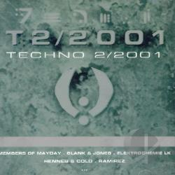 Techno 2001 V.2 CD Cover Art