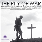 Elgar / Janacek / Roscoe / West - Pity Of War: Violin Sonatas CD Cover Art