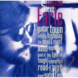 Earle, Steve - Essential Steve Earl CD Cover Art