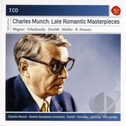 Munch, Charles - Late Romantic Masterpieces CD Cover Art
