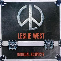 West, Leslie - Unusual Suspects CD Cover Art