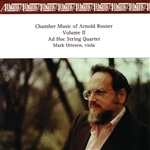 Rosner, Arnold - Chamber Music of Arnold Rosner, Vol. 2 CD Cover Art